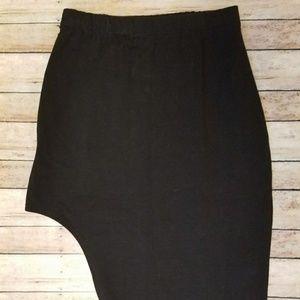 LF Emma & Sam Black Hi-Low Skirt